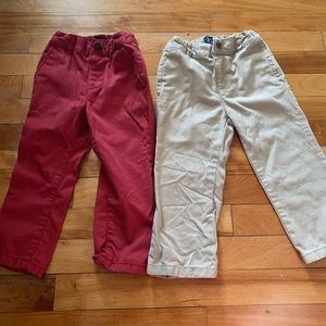 2 PAIRS of Children's Place 2T Toddler Boy Pants